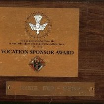 Image of KOC Vocation Sponsor Award