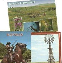 Image of Kansas Post cards