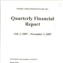 Image of NCHS Financial Reports