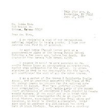 Image of Morris Werner correspondence