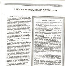 Image of Old Lincoln School District #2
