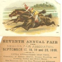 Image of Show Cards, Nemaha Annual Faur