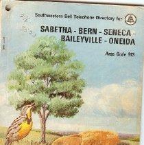 Image of Directory, Telephone - SWB Telephone Directory, 1969