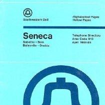 Image of Directory, Telephone - SWB Telephone Directory, 1984-85