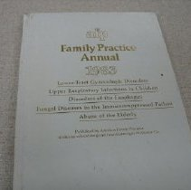 Image of Book - AFP Family Practice Annual 1983