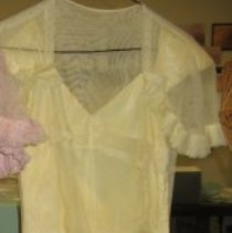 Image of Yellow bridesmaid dress