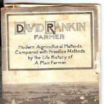 Image of Book - David Rankin, Farmer, Modern Agricultural methods
