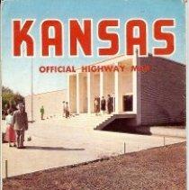 Image of Kansas Road map