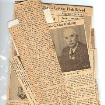 Image of Dr. Fangman's journal clipping