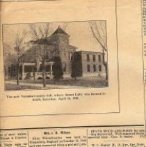 Image of Nemaha Co Jail & Wilson Obit