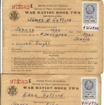 Image of Book, Ration - WWII Ration Books