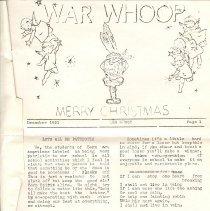 Image of Newsletter - War Whoop: Merry Christmas