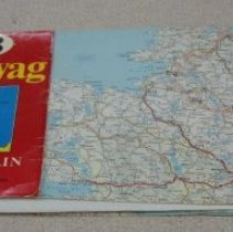 Image of Map - Motoring Map of Great Britain and Ireland