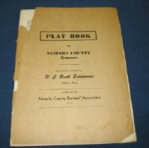 Image of Book - Plat book , 1957, Nemaha County