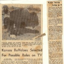 Image of Ft. Markley newspaper article