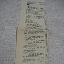 Image of Newspaper - The Mess Line