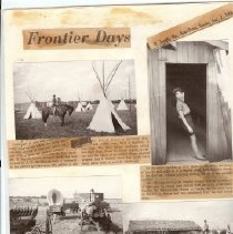 Image of Newspaper - Fontier Days