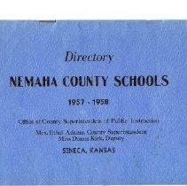 Image of Documents - Nemaha Co. Schools, !957-58