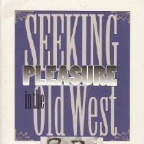 Image of Book - Seeking Pleasure in the Old West