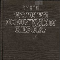 Image of Book - The Warren Commission Report
