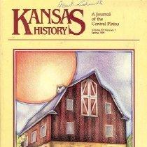 Image of Magazine - Kansas History, A Journal