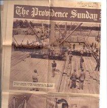 Image of Newspaper - Seabee Stevedores