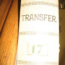 Image of Letter - Letter Transfer Case #17 from S to U
