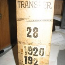 Image of Letter - Letter Transfer Case #28