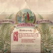 Image of Certificate, Confirmation - Confirmation Certificate