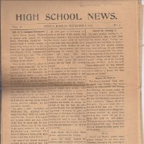 Image of Newspaper - 10 Seneca High School News