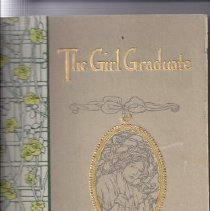 Image of Scrapbook - The Girl Graduate - Her Own Book
