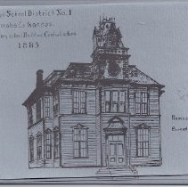 Image of Card - Centralia buildings on note cards