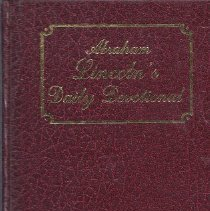 Image of Book - Abraham Lincoln's Dailey Devotional