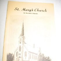 Image of Booklet - St. Mary's Church 1893 - 1973