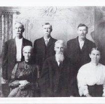 Image of Print, photographic - Photo of the Jimmy MarshallCannon Family