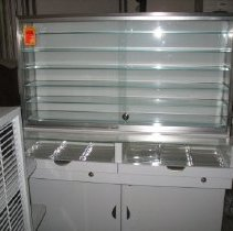 Image of Glass display case