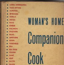 Image of Book, Instruction - Woman's Home Companion Cook Book