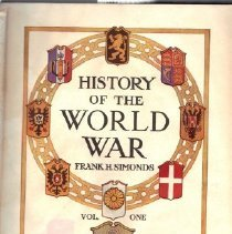 Image of Book - History of the World War, Vol One