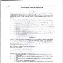Image of Documents - Families research by Don Holthaus