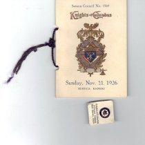 Image of Pin, Fraternal - Knights of Columbus Supreme Council pin