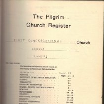 Image of Records - Records of the First Congregational Church