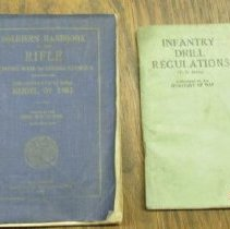 Image of Booklet, Instruction - Infantry Drill Regulations and Soldier's Handbook of the Rifle