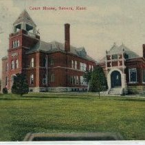 Image of Postcard - Court House, Seneca, Kansas