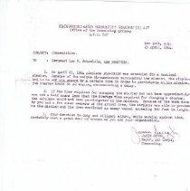 Image of Documents - Leo Schmelzle Commendations