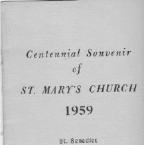 Image of Booklet - St. Mary's Church