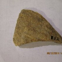 Image of Upper portion of projectile point