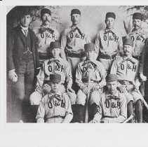 Image of 1890s Baseball Team - 5-ED-16