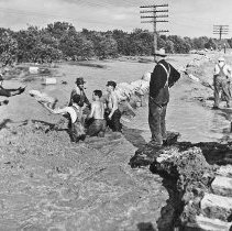 Image of CCC Flood Cleanup, 1938 - 5-E-166