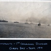 Image of 3rd Battalion Convoy September 1914