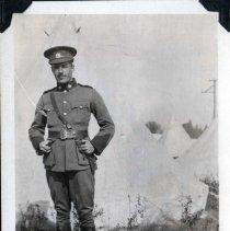 Image of Lieutenant Ross Medland 1914